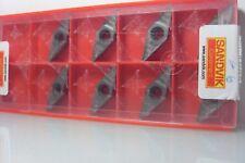 Vcgx 160408-al h10 Sandvik plaquitas Carbide Inserts 8 STK