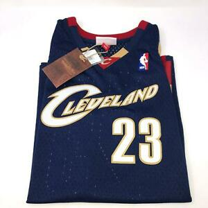 NWT Lebron James #23 Mitchell & Ness Blue Cavs Classic Jersey Youth X-Large