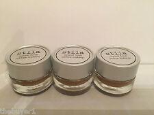 3 Lot Stila Natural Finish Oil - free makeup shade h s349 - Travel size