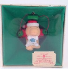1982 Ziggy Ornament Holiday Happiness American Greetings WXO-37 IOP