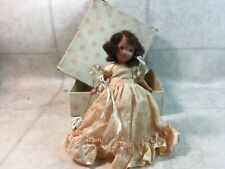 Nancy Ann Bisque Storybook Doll #87 Bridesmaid Jointed Arms Fixed Legs