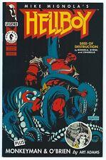 HELLBOY: Seed of Destruction #2 Apr 1994 NM+ 9.6 W MIGNOLA BYRNE & ADAMS Art B/O