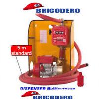 Pompa elettrica da travaso Rover per gasolio con contalitri - Dispenser Marina