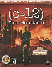Strategy Guide C-12 FINAL RESISTANCE Prima Games