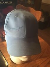 CAT Caterpillar Hat Baby Light Blue Cap Embroidered CAT Strap back ! RARE HAT !