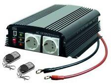 INVERTER  12V -  220V - 3400W MAX - RADIOCONTROLLO REMOTO -  CAPER - AUTO - CASA