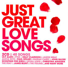JUST GREAT LOVE SONGS / VARIOUS ARTISTS - 2 CD SET