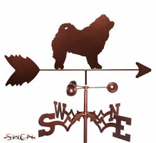 Swen Products Chow Chow Dog Steel Weathervane