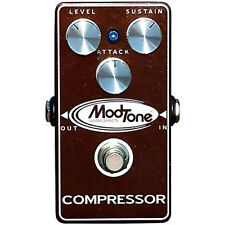 """ModTone """"Brown Crush Compressor"""" Pedal - New Blowout Special!"""
