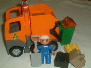 Lego Duplo 5637 Garbage Truck 100% complete without box