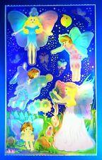Vintage Sandylion Foil Fairies Sticker Sheet