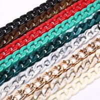 Gafas de acrílico Gafas Soporte de Cadena Cordón Cuerda Collar 66cm Nuevo