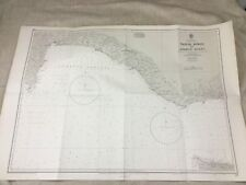 More details for vintage military map turkey taslik burnu anamur navy naval submarine chart