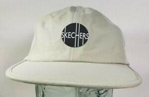 Skechers Mesh Running Cap Hat Yupoong Beige Drawstring SAMPLE PROTOTYPE RARE NEW