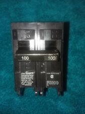 SIEMENS EQ9675 100A 100 AMP CIRCUIT BREAKER 2 POLE 120/240V w/RED CLIP new