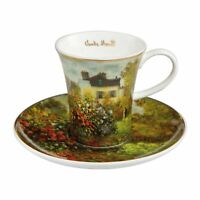 Goebel Das Künstlerhaus Espressotasse Artis Orbis Claude Monet Fine Bone China