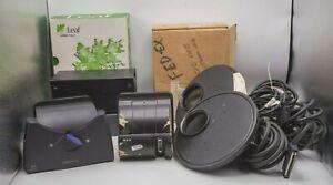 Lot - Leaf DCB II & Volare Fuji GX680 II Camera Digital Backs w/ Cords & Filters