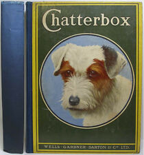 1924 CHATTERBOX ENGLISH CHILDREN'S ANNUAL STORY PAPER