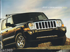 Big 2006 JEEP COMMANDER Brochure / Catalog with Color Chart: LIMITED
