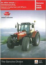 MASSEY FERGUSON TRACTOR MAGAZINE - AUTUMN ISSUE 2005 BROCHURE - JB7