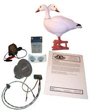Movin Goose Decoy BigFoot Snow Motion Kit Big Foot Moving Snow Geese Decoys