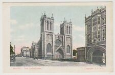 Gloucestershire postcard - Bristol, The Cathedral