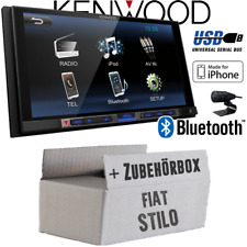Fiat Stilo Kenwood Bluetooth USB MP3 7' TFT Autoradio Einbauset PKW KFZ Radio