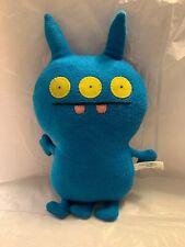 """Ugly Doll Gund Blue Mover Alien Monster Plush 2012 14"""""""