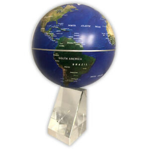 TerraMagic Rotating Geographic Magnetic Floating Earth Globe Spinning