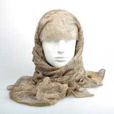 Highlander Camouflage Tactical Mesh Scarf Wrap Face Cover Mask Shawl Sniper Veil