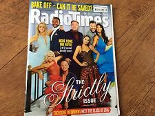 2xRADIO TIMES STRICTLY COME DANCING BAKE OFF 24 SEPTEMBER 2016 &14 NOVEMBER 2015