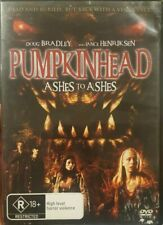 PUMPKINHEAD 3 ASHES TO ASHES RARE DVD HORROR FILM LANCE HENRIKSEN DOUG BRADLEY