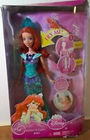 Disney Princess Glitter'n Lights Ariel Doll Damaged Box