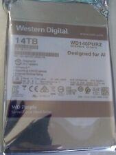 Western Digital 14TB Purple Surveillance 7200RPM Internal Hard Drive   WD140PURZ