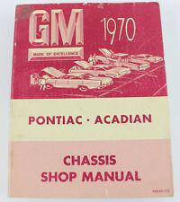 Pontiac Acadian 1970 workshop manual as new