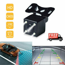 NEW 170° CMOS Car Rear View Backup Camera Reverse 4 LED Night Vision Waterproof