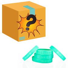 Leukaemia Charity Fundraising Pack 100 Wristbands & £100 Worth of Novelty Gifts