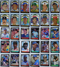 1987 Donruss Baseball Cards Complete Your Set You U Pick From List 1-220