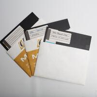 Vintage Lot Apple Software Three 5.25 Floppy
