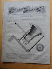 1870 Manufacturer Builder Magazine John Ericsson Solar Heat Caloric Engine