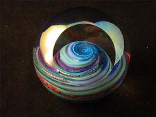 Uranus Paperweight Glass Eye Studio Celestial Series Planetary Art Decor 484F