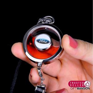 Ford Pendant Car Air Freshener Perfume Diffuser Mirror Charm
