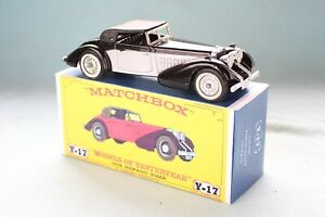 Matchbox Yesteryear Y17-1  Hispano-Suiza 1938 - Code 3 (D90)