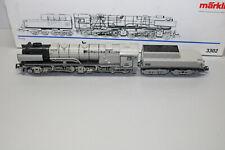 Märklin 3302 Locomotora de Vapor Serie 53 0001 Cerda Mazo Gris Escala H0 Ovp