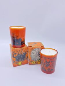 HALLOWEEN - 2 Pumpkin Spiced Gingerbread Soy Wax Votive Candle Michel Design