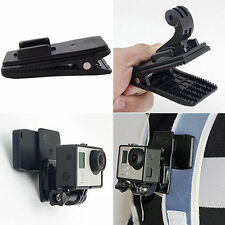 360° Rotary Quick Release Backpack Hat Clip Clamp Mount For Go Pro 2Y