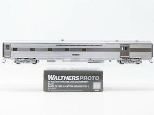 HO Walthers Proto 920-9470 ATSF Santa Fe 85' Baggage-Dormitory Passenger #3479