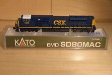 Kato N SD80MAC CSX Dark Future #4594