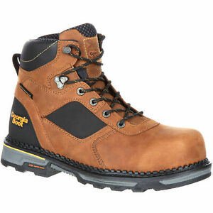 """GEORGIA HAMMER 6"""" COMPOSITE TOE WATERPROOF WORK BOOTS GB00131 - ALL SIZES - NEW"""