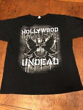 Hollywood Undead The Nightmare After Christmas 2011 Tour Shirt Size L